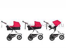 Выставочная коляска для новорожденного 2 в 1 Mountain Buggy Urban Jungle EVO