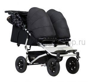 Duet  (Дует) 2017 год, Детская коляска для новорожденной двойни Mountain Buggy Duet с коконами (Маунтин Багги Дует)